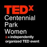 TEDxCentennialParkWomen logo
