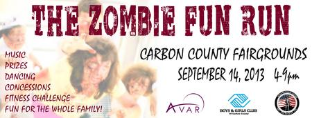 Zombie 2 mile Obstacle Fun Run