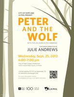 City of Hope & LA Phil present Peter and the Wolf