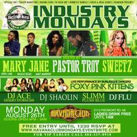 Industry Mondays Heineken Salutes Hip Hop Tonight...
