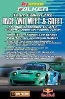 ALMS // Team Falken Tire – Meet & Greet