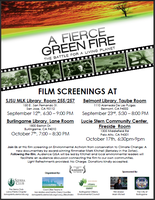 San Jose Screening of A Fierce Green Fire: The Battle...