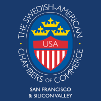 Swedish-American Chamber of Commerce San Francisco & Silicon Valley logo