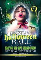 BRAZILIAN HALLOWEEN BALL 2013-BACK TO THE 80'S THEMED...