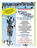 Rockland Country Day School 2nd Annual Winter Shopping...