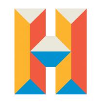 Staden Malmös Hemslöjdsförening - SMH logo