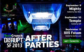 TechCrunch Disrupt Monday After Party