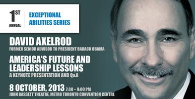 David Axelrod: America`s Future and Leadership Lessons