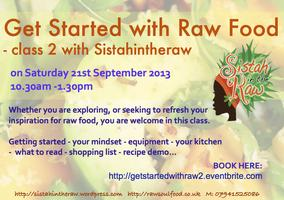 Get Started with Raw Food - Class 2