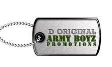 ORIGINAL ARMYBOYZ PROMOTIONZ logo