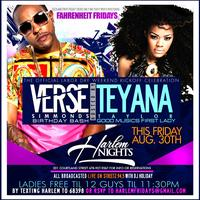 Verse Simmonds Birthday Bash Hosted by Teyana Taylor Fr...