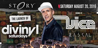 STORY presents: #DIVINYLSATURDAYS w/sound by: ♫ VICE &...