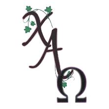 Alpha Kappa Alpha Sorority, Inc. Chi Alpha Omega Chapter  logo