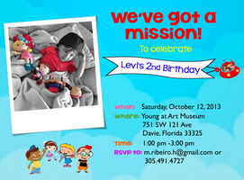 Levi's Second Birthday