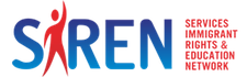 Services, Immigrant Rights, and Education Network (SIREN) logo