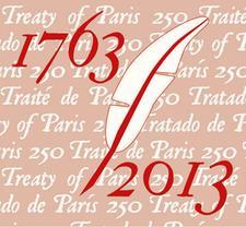 1763 Peace of Paris Commemoration logo