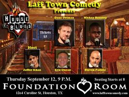 Laff Town Comedy in the Foundation Room