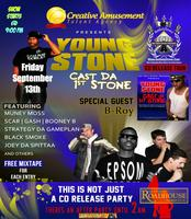 Young Stone Cast Da 1st Stone CD Release Party