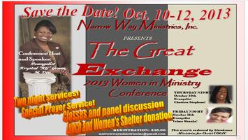 The Great Exchange Women in Ministry Conference 2013