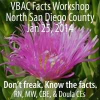 North San Diego County VBAC Facts Workshop with Jen Kam...