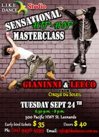 Hip-Hop Masterclass with Gianinni and Leeco (Cirque du...