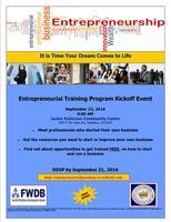 Entrepreneurial Training Kickoff