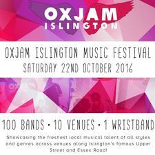 Oxjam Islington logo