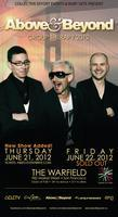 Above & Beyond @ The Warfield • Friday 6/22