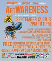 ArtWARENESS. art, music, community and hope.