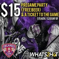 Orlando City Soccer & Whats2Hot.com PARTY PACK