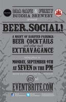 dba/cafe and Funky Buddha Brewery present: Beer Social