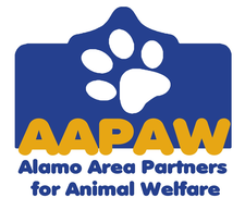 Alamo Area Partners for Animal Welfare (AAPAW) logo