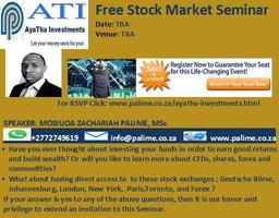 Stock Market Seminar: Pretoria
