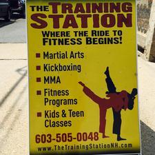 The Training Station logo
