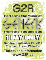 G2R Performs the Music of Genesis