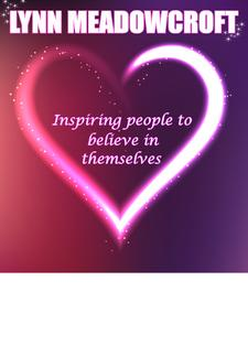 Lynn Meadowcroft - Inspiring people to believe in themselves logo