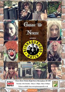 Gis A Gander Theatre's Grimm Up North logo
