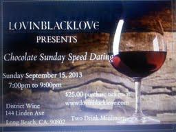 Chocolate Speed Dating