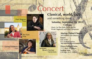 Concert, Classical, World, Jazz and something more
