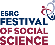 The University of Edinburgh at The ESRC Festival of Social Science logo