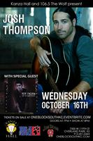 Josh Thompson With Special Guest Noe Palma