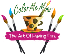 Color Me Mine Uptown logo