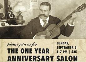 One Year Anniversary Salon at Justice Snow's