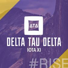 Delta Tau Delta Iota Xi Chapter logo