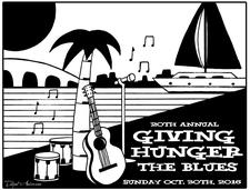 Giving Hunger the Blues & Jazz on the Bay logo