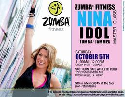 Zumba® Fitness Master Class with ZJ Nina Idol, Baton...