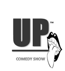 Damon Simms presents UP COMEDY SHOW  logo