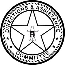 Houston Livestock Show and Rodeo Directions and Assistance Committee logo