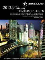 Becoming Exceptional Chicago!  Adelante!'s Natl....