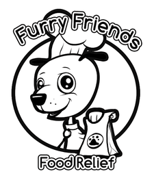 Furry Friends Food Relief Program logo